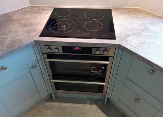 Salisbury Kitchens and Carpentry Electric Hob