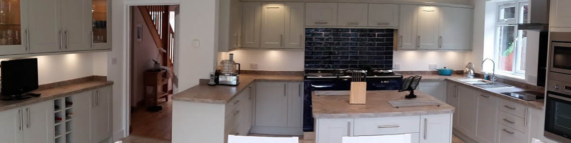 Salisbury Kitchens and Carpentry White Kitchen