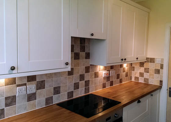Salisbury Kitchens and Carpentry White Cabinets